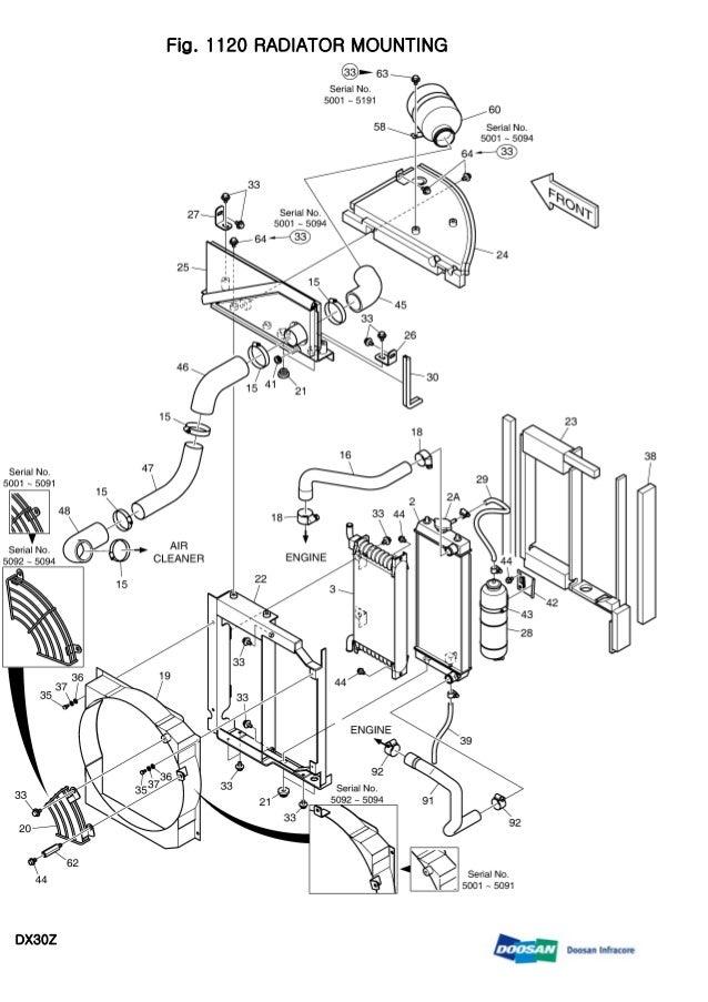 DAEWOO DOOSAN DX30Z MINI CRAWLER EXCAVATOR Service Repair