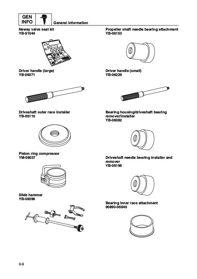 2010 Yamaha F25A 25HP OUTBOARD Service Repair Manual