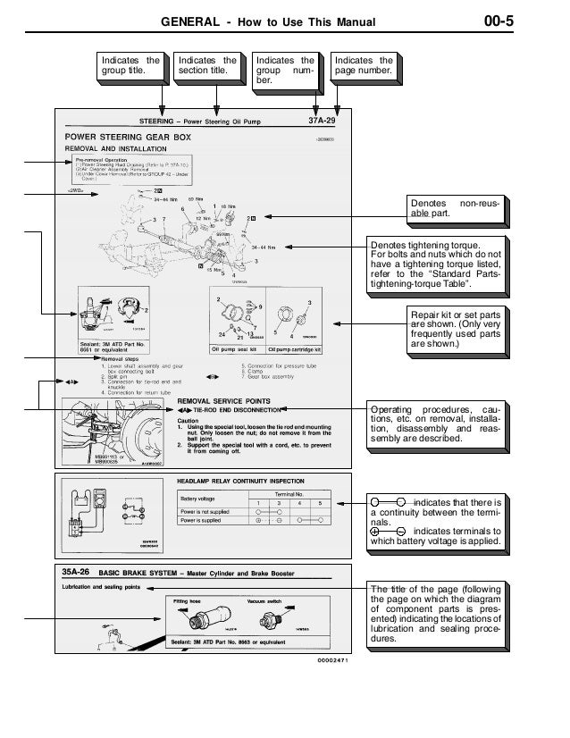 1997 mitsubishi galant service repair manual  slideshare