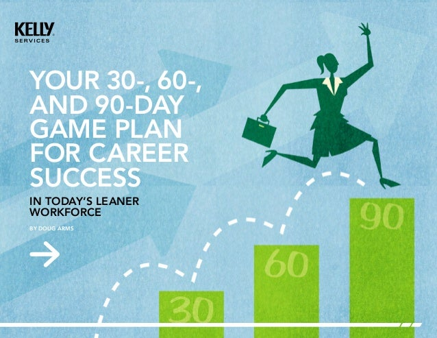 YOUR 30-, 60-,AND 90-DAYGAME PLANFOR CAREERSUCCESSIN TODAY'S ...