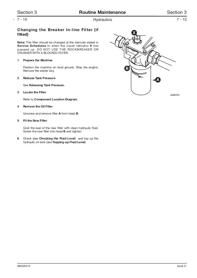 JCB JS145W WHEELED EXCAVATOR Service Repair Manual SN
