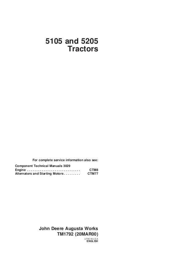JOHN DEERE 5205 TRACTOR Service Repair Manual on john deere 455 wiring-diagram, john deere lt155 wiring-diagram, john deere 345 wiring-diagram, john deere 4100 wiring-diagram, john deere 4430 wiring-diagram, john deere wiring schematic, john deere 5103 fuse diagram, john deere 5103 tractor, john deere 5103 exhaust, john deere electrical diagrams, john deere gator wiring-diagram, john deere 5103 problems, john deere 5103 solenoid, john deere 214 wiring-diagram, john deere 5203 wiring diagrams, john deere 5103 fuel system, john deere 145 wiring-diagram, john deere 133 wiring-diagram, john deere 5103 manual, john deere z225 wiring-diagram,
