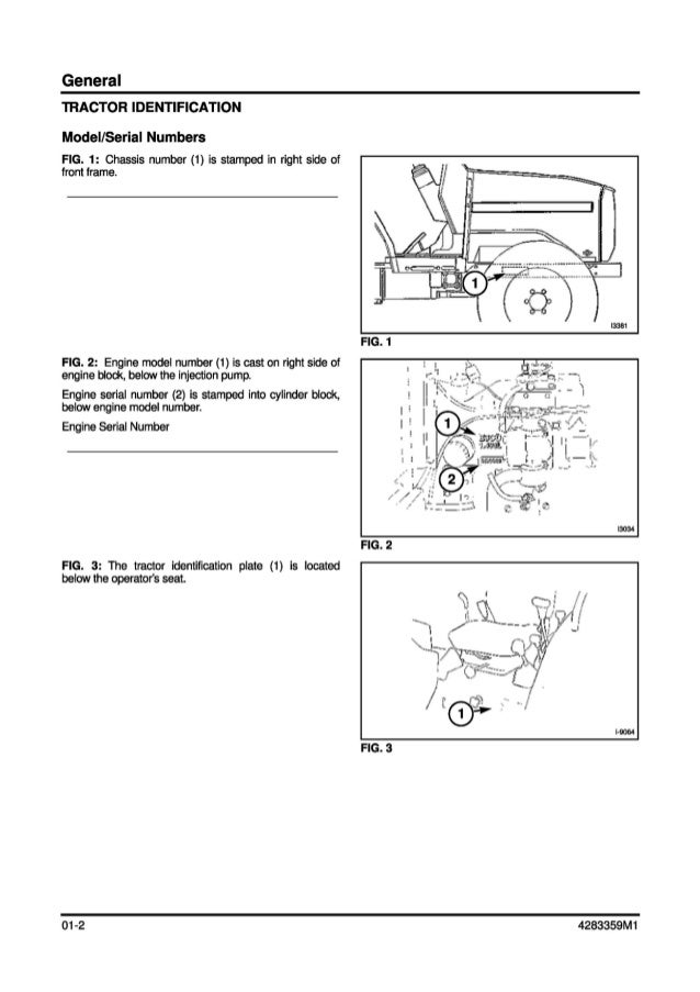 Massey Ferguson Mf1533 Tractor Service Repair Manual