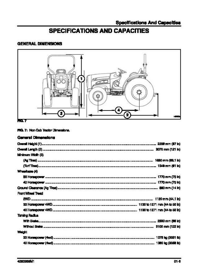 Massey Ferguson MF1533 Tractor Service Repair Manual