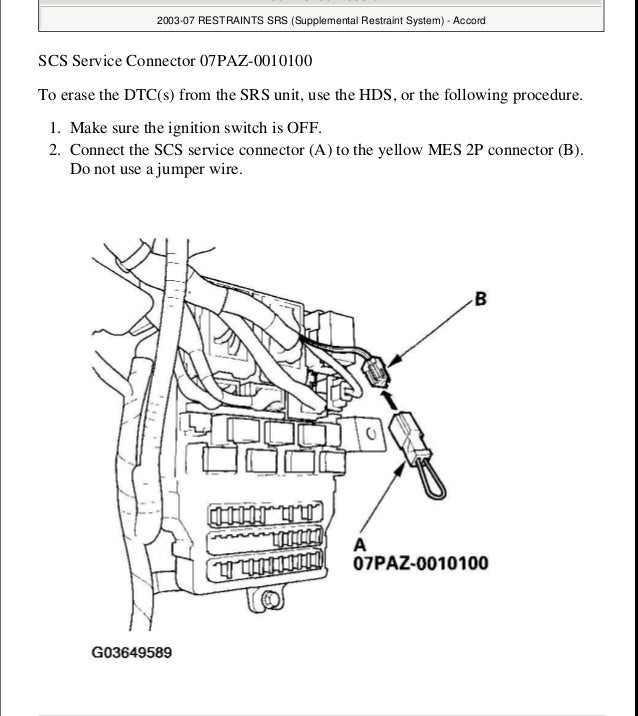 32329 2007 Honda Accord Wiring Diagram Manual Guide