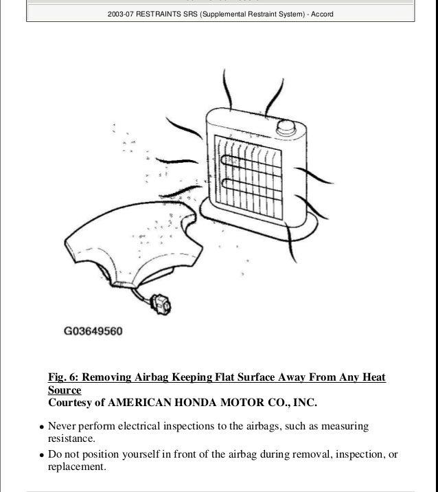 2005 HONDA ACCORD Service Repair Manual