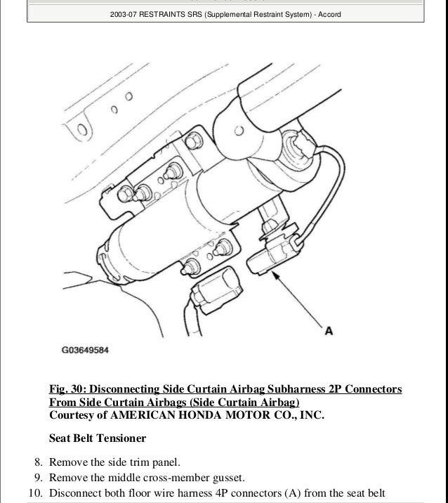 2005 HONDA ACCORD Service Repair Manual on