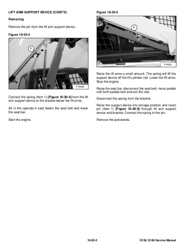 bobcat s160 skid steer loader service repair manual s  n 529911001 529 S150 Bobcat Hydraulic Cylinder bobcat s150 service manual download
