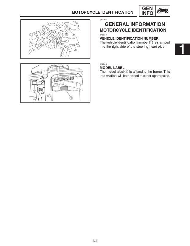 2003 Yamaha YZF-R6 Service Repair Manual