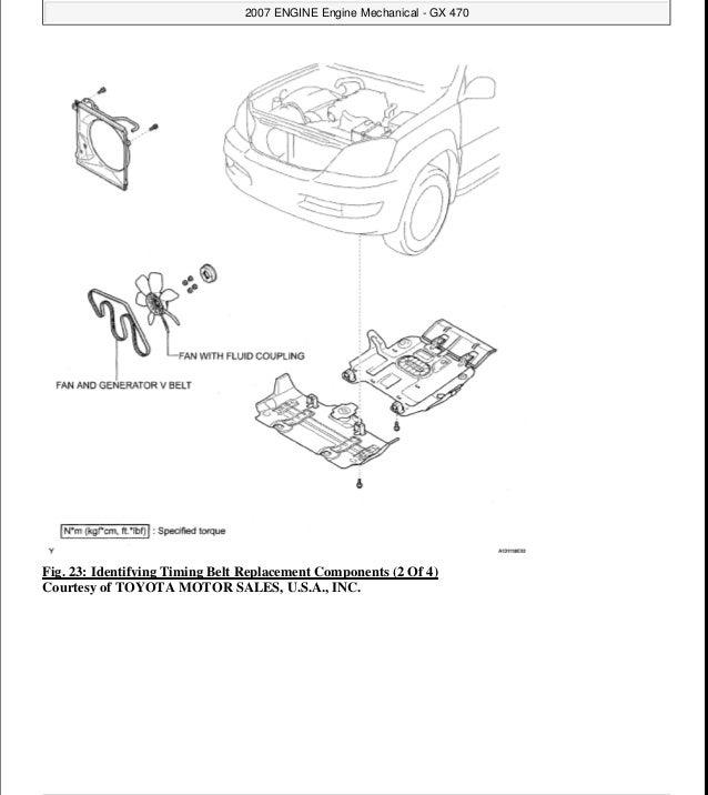 2008 LEXUS GX470 Service Repair Manual