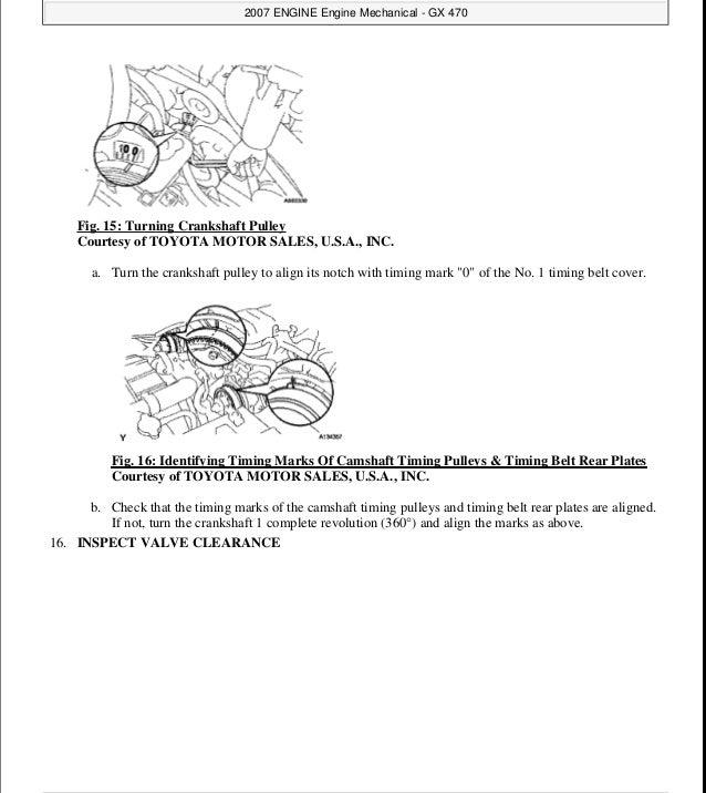 2003 LEXUS GX470 Service Repair Manual