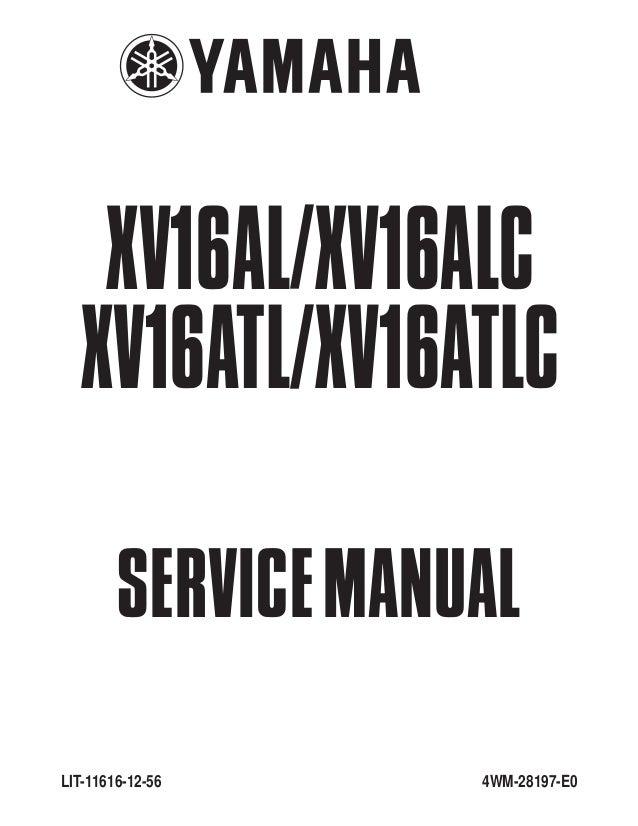 free yamaha roadstar service manual