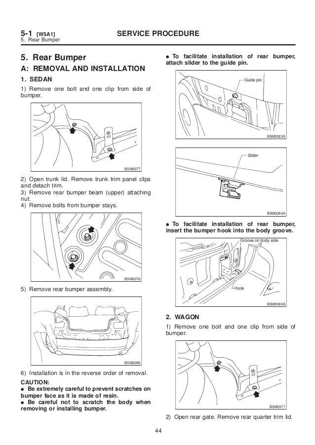 Tech Teazer: 1998 Subaru Forester Repair Manual