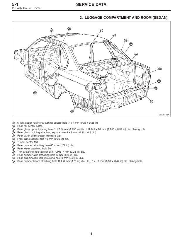 1995 Subaru Legacy 2 Service Repair Manual
