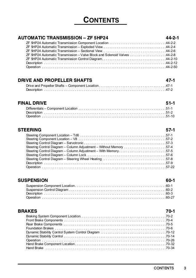 2002 Range Rover L322 (LRL0424ENG) Service Repair Manual