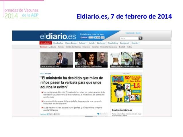 Eldiario.es, 7 de febrero de 2014