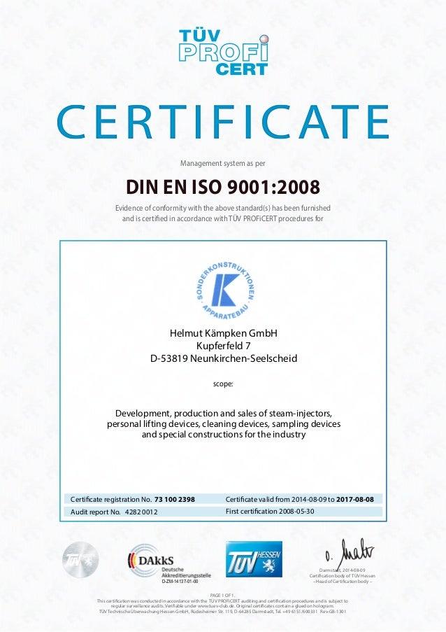 certificate din en iso 9001 2008 en