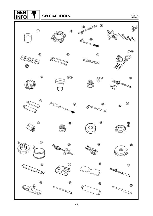 YAMAHA OUTBOARD 40VMHO, 40MH Service Repair Manual S: 191877 -