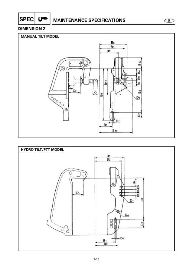 yamaha outboard 40vmho 40mh service repair manual s 191877 rh slideshare net Outboard Motor Diagram Mercury Outboard Motors