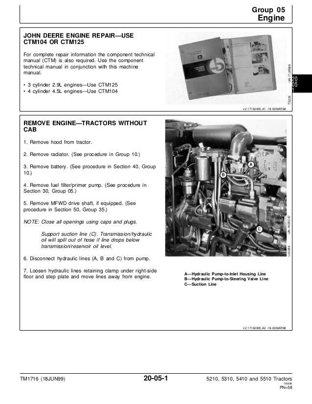 john deere 5210 service manual
