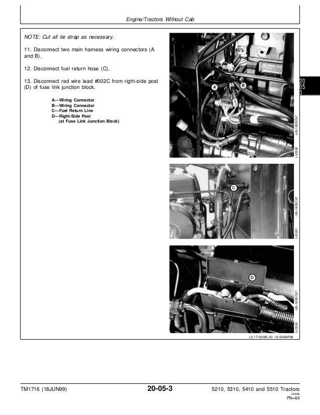 JOHN DEERE 5310 TRACTOR Service Repair Manual on farmall h tractor wiring diagram, john deere starter wiring diagram, 8n ford tractor wiring diagram,