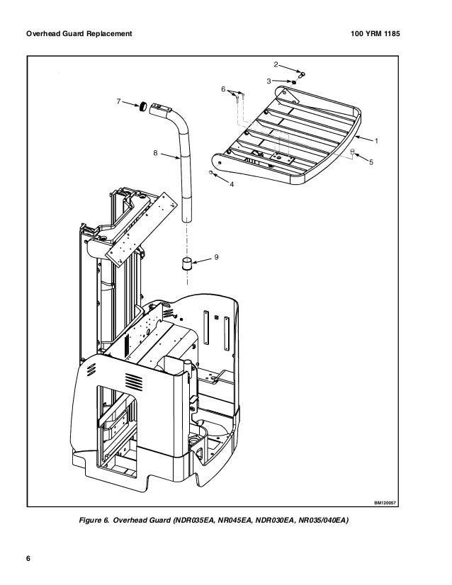 YALE (A295) NDR30DA LIFT TRUCK Service Repair Manual