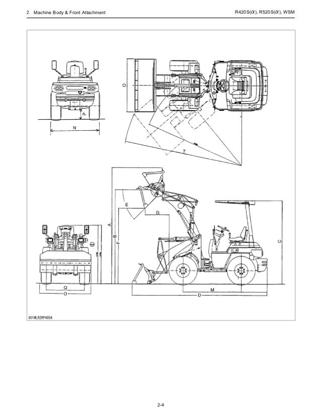 KUBOTA R520A WHEEL LOADER Service Repair Manual