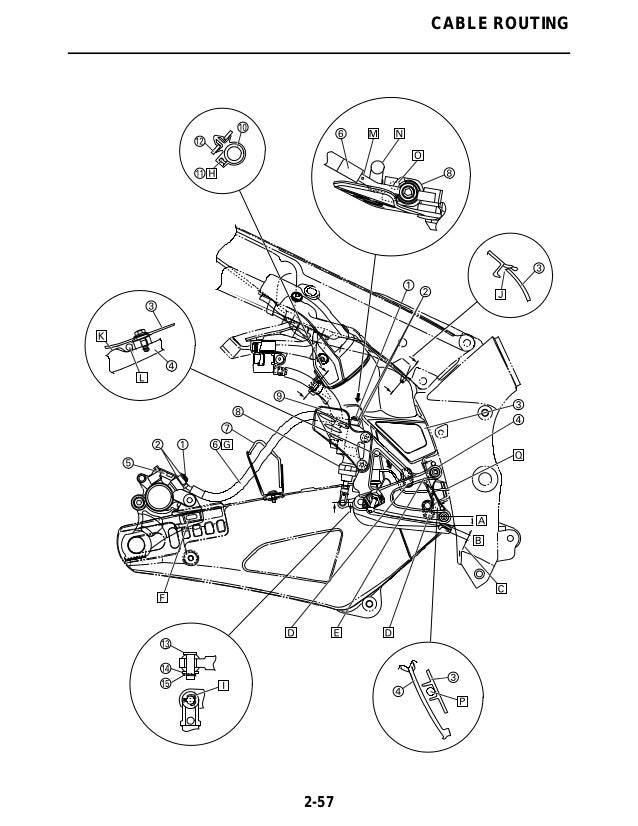 2011 Yamaha YZFR1000ACB Service Repair Manual