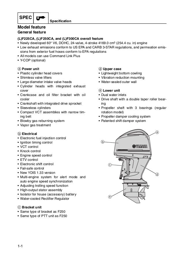 2010 2011 yamaha f225 f250 f300 4 stroke outboard service repair factory manual instant download