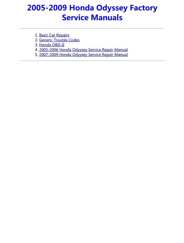 2007 honda odyssey maintenance manual best setting instruction guide u2022 rh ourk9 co 2010 honda odyssey service manual 2010 honda odyssey owners manual pdf download