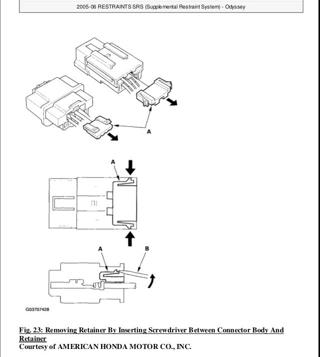 2007 HONDA ODYSSEY Service Repair Manual