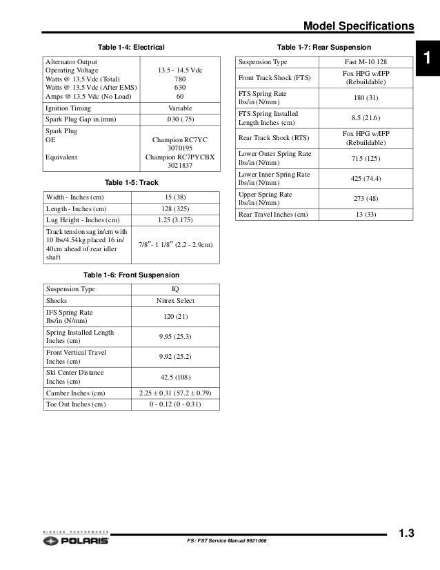 2008 POLARIS IQ TURBO LX SNOWMOBILE Service Repair Manual