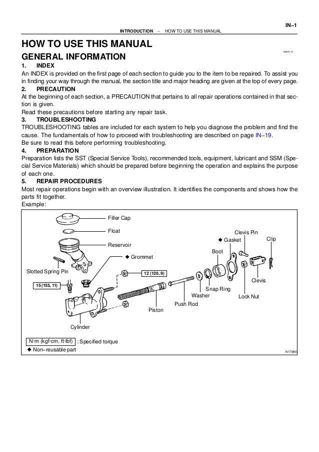 2005 toyota tundra service repair manual rh slideshare net Tundra Manual Transmission 2014 Toyota Tundra