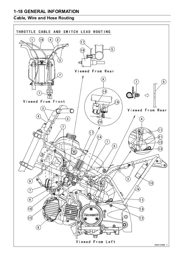 2006 Kawasaki KLX110A6F Service Repair Manual