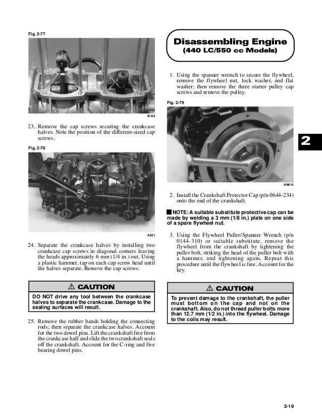 2000 Arctic Cat ZL 550 esr Service Repair Manual