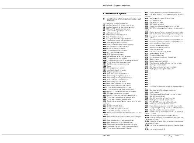 26  4wd clutch - diagrams and plans 8c12 156 masseyferguson