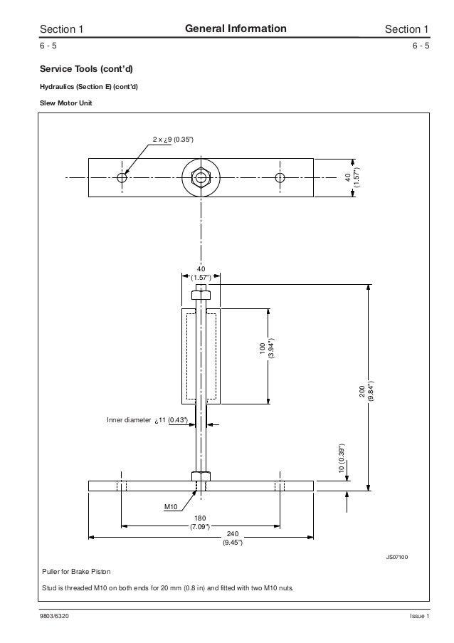 JCB JS200W WHEELED EXCAVATOR Service Repair Manual SN