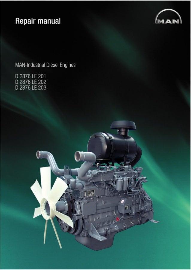 Industrial Le industrial diesel engine d 2876 le 203 service repair manual