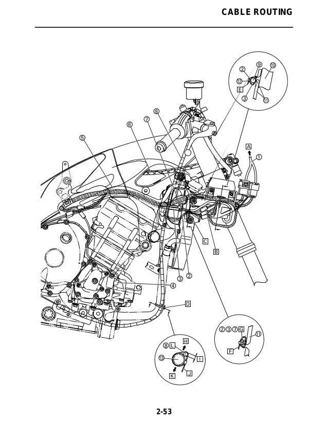 2011 Yamaha Yzfr1000ab Service Repair Manual