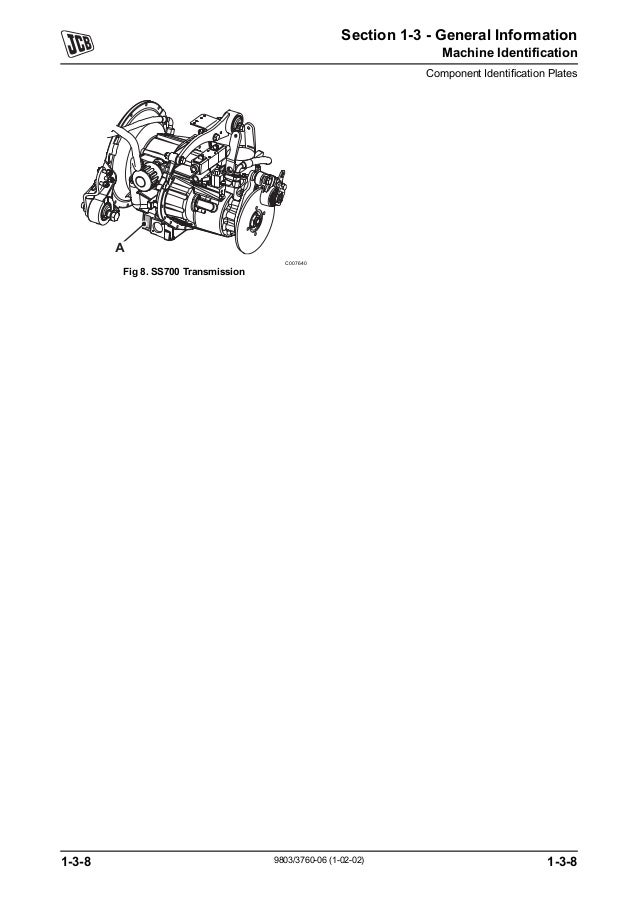 JCB 536-60 TELESCOPIC HANDLER Service Repair Manual