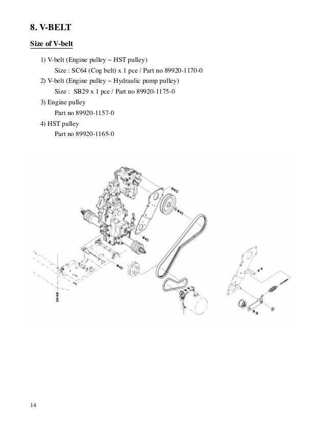 Kubota B3030 Wiring Diagram Engine Diagram And Wiring
