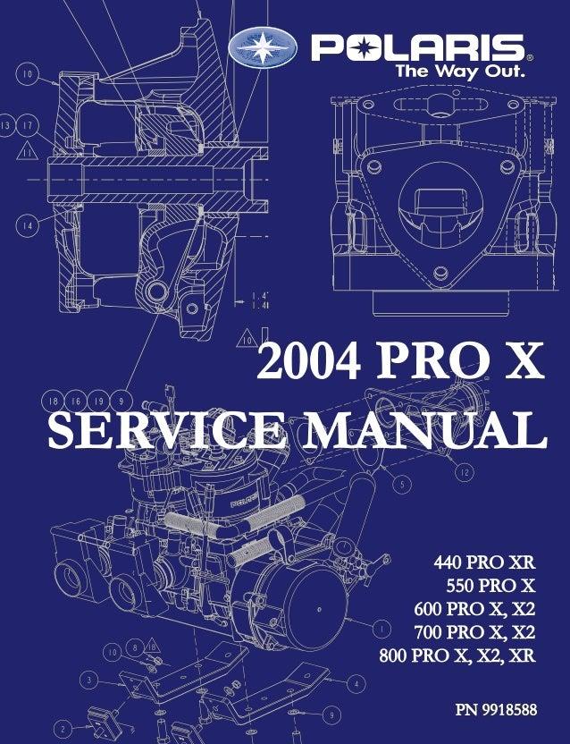 2004 polaris 440 pro x snowmobile service repair manual 2005 Polaris Ranger Wiring Diagram