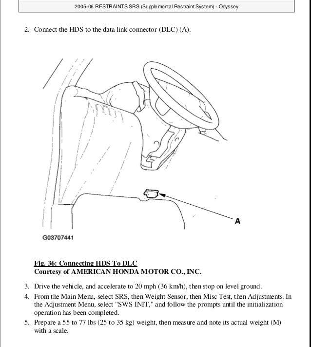 honda odyssey repair manuals