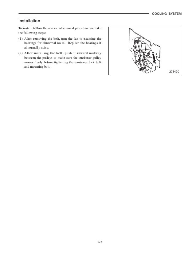 Service manual for cat gc25k