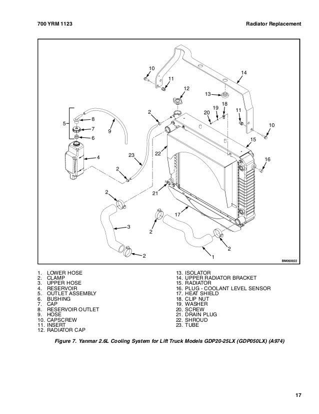 Yale G813 Gdp90vx Lift Truck Service Repair Manual