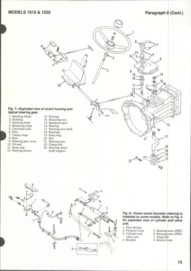 massey ferguson mf1010 tractor service repair manual