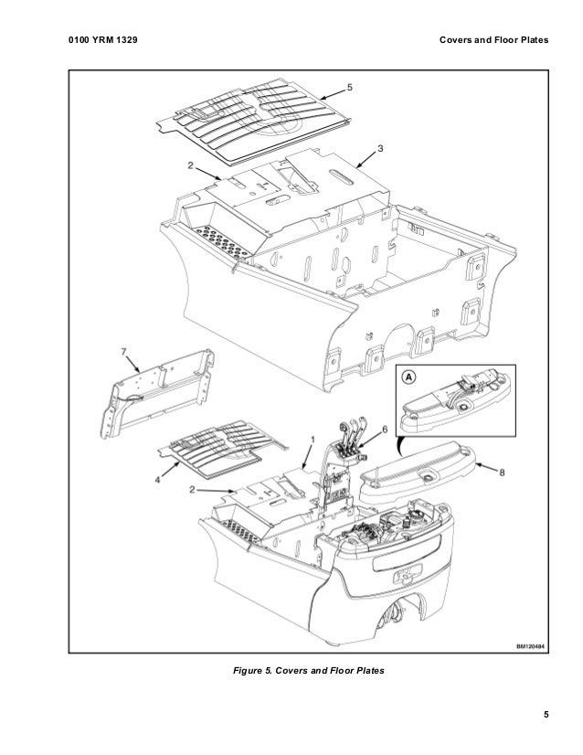 YALE G807 ERP040VT LIFT TRUCK Service Repair Manual