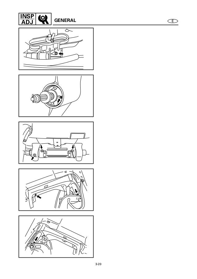 YAMAHA OUTBOARD 250BETO, S250TR Service Repair Manual X