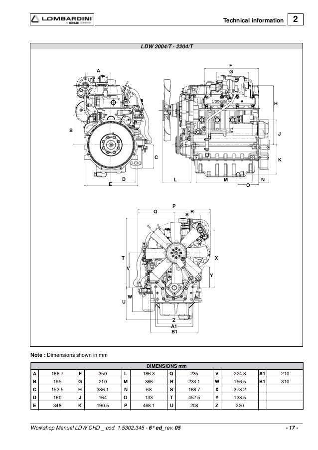 lombardini spark ignition engines series workshop service repair manual