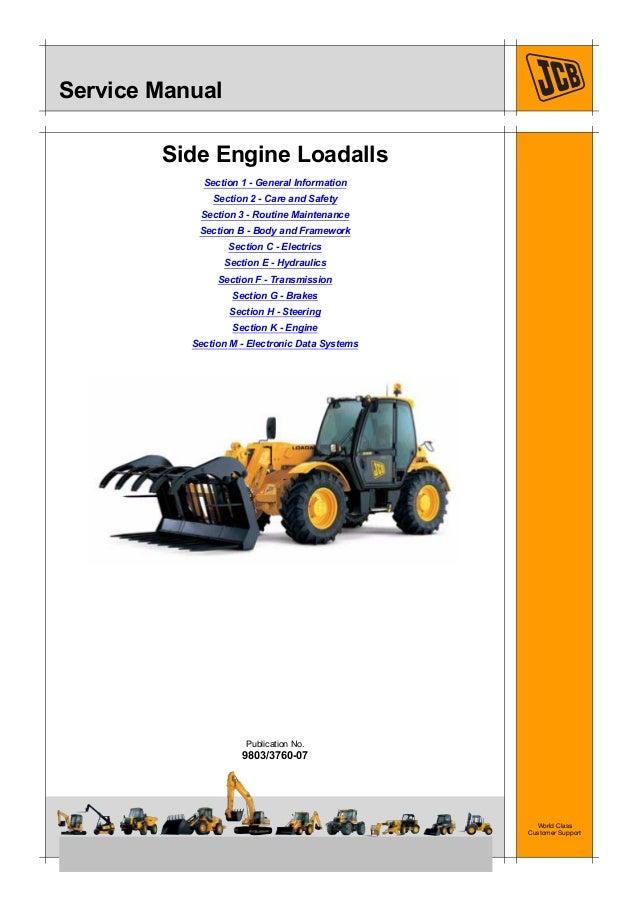 jcb 531 70 telescopic handler service repair manual rh slideshare net Standard Operating Manual User Manual Guide